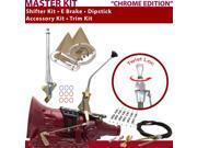 C4 Shifter Kit 10 E Brake Cable Clamp Trim Kit Dipstick For F74A2 fairmont cortina lincolns granada montego ford mustang zephyr comet fairlane mercury monarch f