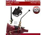 American Shifter Company ASCS1B4F32A0D FMX Shifter Kit 12 E Brake Trim Kit For F0965