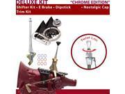 American Shifter Company ASCS1C1G11A1D 4L60 Shifter Kit 6 E Brake Trim Kit Dipstick For D4165