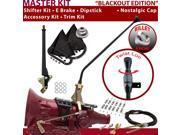 American Shifter Company ASCS2B6F32H1D FMX Shifter Kit 23 E Brake Cable Clamp Trim Kit Dipstick For E8317
