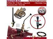 C4 Shifter Kit 10 E Brake Cable Clevis Trim Kit Dipstick For F814D cougar maverick falcon montego fairlane mustang cortina granada ranchero zephyr capri comet l