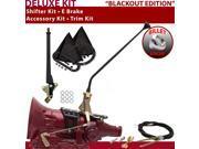 American Shifter Company ASCS1B5G42E0C TH400 Shifter Kit 16 E Brake Cable Trim Kit For F2D42