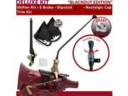 C4 Shifter Kit 16 E Brake Trim Kit Dipstick For E6465 mustang cortina ford ltd f-series comet cougar thunderbird granada lincolns fairmont ranchero falcon torin