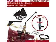 C4 Shifter Kit 12 E Brake Cable Clamp Trim Kit Dipstick For F7015 mustang comet bronco f-series ltd zephyr montego capri mercury thunderbird ranchero fairmont t