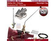 C4 Shifter Kit 16 E Brake Cable Clamp Trim Kit For E6387 zephyr bronco mercury granada falcon cougar fairmont fairlane capri ford torino lincolns montego ltd th