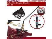 American Shifter Company ASCS1B5F32C1C FMX Shifter Kit 16 E Brake Trim Kit Dipstick For F2518