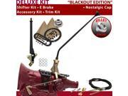 American Shifter Company ASCS2B6F32D0H FMX Shifter Kit 23 E Brake Cable Trim Kit For E827A