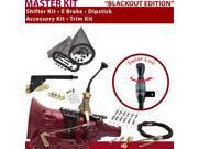 American Shifter Company ASCS1B2F31J1L FMX Shifter Kit 8 E Brake Cable Clamp Trim Kit Dipstick For D5A51