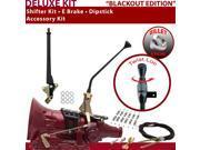 700R4 Shifter Kit 12 E Brake Cable Clamp Dipstick For F147F bravada c series pontiac k series caprice chevrolet cadillac sonoma buick astro van impala brougham