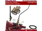American Shifter Company ASCS1B7G41L0H TH400 Shifter Kit 23 Swan E Brake Cable Clevis Trim Kit For DE966