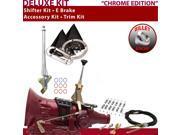 C4 Shifter Kit 6 E Brake Cable Clamp Trim Kit For DF73A bronco f-series zephyr ltd ford comet ranchero cortina maverick cougar granada mercury montego fairlane
