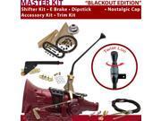 C4 Shifter Kit 12 E Brake Cable Trim Kit Dipstick For F700C zephyr mustang granada comet ford cortina lincolns thunderbird ltd monarch maverick falcon fairmont