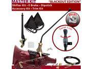 American Shifter Company ASCS2B6G42L1C TH400 Shifter Kit 23 E Brake Cable Clevis Trim Kit Dipstick For E8BC5