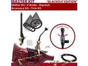 C4 Shifter Kit 8 E Brake Cable Clevis Trim Kit Dipstick For F742A thunderbird comet montego cougar torino ford ranchero f-series fairlane ltd capri maverick mer