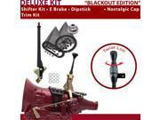 C4 Shifter Kit 6 E Brake Trim Kit Dipstick For C7EAE lincolns zephyr fairlane montego comet bronco fairmont granada capri cougar ltd thunderbird mustang torino