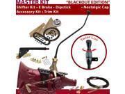 700R4 Shifter Kit 23 Swan E Brake Cable Trim Kit Dipstick For D2EBE firebird buick caprice cadillac c series roadmaster k series chevrolet surburban g series va