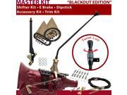 C4 Shifter Kit 23 E Brake Cable Clamp Trim Kit Dipstick For DC289 montego maverick cortina monarch ranchero cougar mercury ltd comet capri torino falcon fairlan