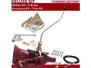 American Shifter Company ASCS2C7G41J0G TH400 Shifter Kit 23 Swan E Brake Cable Clamp Trim Kit For D2B9C