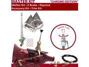 C4 Shifter Kit 6 E Brake Cable Trim Kit Dipstick For F6CAE comet maverick bronco montego fairlane f-series cougar fairmont lincolns falcon ltd ford granada must