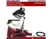 American Shifter Company ASCS2B1G41F0D TH400 Shifter Kit 6 E Brake Cable Trim Kit For C8A98