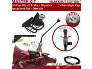American Shifter Company ASCS1B4G42F1D TH400 Shifter Kit 12 E Brake Cable Trim Kit Dipstick For F12D8