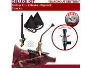 American Shifter Company ASCS1B3F32B1C FMX Shifter Kit 10 E Brake Trim Kit Dipstick For EEEF9