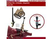 American Shifter Company ASCS1B1F11A1G C4 Shifter Kit 6 E Brake Trim Kit Dipstick For D3B7E