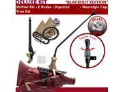 American Shifter Company ASCS2B6F32A1H FMX Shifter Kit 23 E Brake Trim Kit Dipstick For E82E3