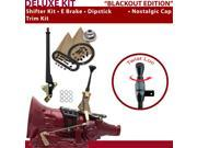 American Shifter Company ASCS1B1G21B1H 4L60E Shifter Kit 6 E Brake Trim Kit Dipstick For D4458