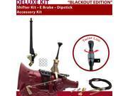 C4 Shifter Kit 6 E Brake Cable Dipstick For F6D43 ranchero falcon mercury lincolns granada monarch cortina cougar thunderbird mustang bronco torino ford capri f