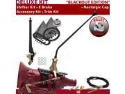 American Shifter Company ASCS2B6F32D0M FMX Shifter Kit 23 E Brake Cable Trim Kit For E8278