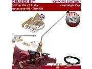 American Shifter Company ASCS2C5G42F0H TH400 Shifter Kit 16 E Brake Cable Trim Kit For E6FD0