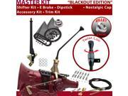 American Shifter Company ASCS1B4G42H1M TH400 Shifter Kit 12 E Brake Cable Clamp Trim Kit Dipstick For F12C5