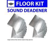Zirgo ZIR7633B Car Audio Sound Deadener & Heat Barrier for 37-38 Mopar  Floor Kit