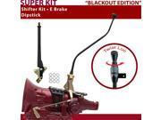 American Shifter Company ASCS1B7G41A1X TH400 Shifter Kit 23 Swan E Brake Dipstick For DE99F