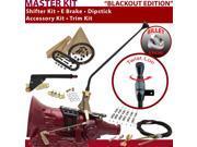 American Shifter Company TH350 Shifter Kit 16 E Brake Cable Clamp Trim Kit Dipstick For E7471 nova chevy camaro corvette malibu chevrolet caprice monte carlo ch
