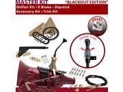 C4 Shifter Kit 8 E Brake Cable Clamp Trim Kit Dipstick For F80B9 ltd ranchero granada fairlane montego lincolns maverick mustang falcon fairmont comet monarch c