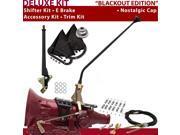 American Shifter Company ASCS1B6F31H0D FMX Shifter Kit 23 E Brake Cable Clamp Trim Kit For DC5B5