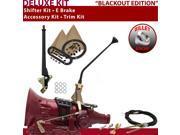 American Shifter Company ASCS2B4G42E0G TH400 Shifter Kit 12 E Brake Cable Trim Kit For E5556