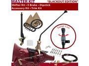 C4 Shifter Kit 16 E Brake Cable Clamp Clevis Trim Kit Dipstick For DA792 ranchero cougar ford bronco zephyr torino montego cortina comet ltd mercury falcon mave