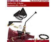 American Shifter Company ASCS1B4G41F0C TH400 Shifter Kit 12 E Brake Cable Trim Kit For D9883