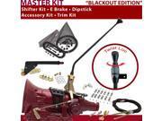 American Shifter Company TH350 Shifter Kit 16 E Brake Cable Clamp Clevis Trim Kit Dipstick For DB784 monte carlo corvette blazer truck camaro chevy nova malibu