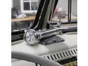 Vintage Parts USA Flash Light 1059258 Plymouth Chrome Retro Vintage Flashlight w/ 5 LED Lights