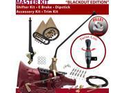 C4 Shifter Kit 23 E Brake Cable Clamp Clevis Trim Kit Dipstick For E7F82 granada montego lincolns mercury torino falcon mustang capri ford f-series ranchero mav