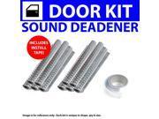 Zirgo ZIR7963D Heat & Sound Deadener IH Scout 1961 - 1980 2 Door Kit + Seam Tape 4038Cm2