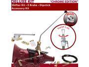 C4 Shifter Kit 16 E Brake Cable Clevis Dipstick For E63C8 bronco comet cortina ranchero cougar mercury zephyr capri ford lincolns f-series fairmont ltd fairlane