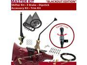 American Shifter Company TH350 Shifter Kit 12 E Brake Cable Clamp Clevis Trim Kit Dipstick For CDF4E blazer caprice chevrolet van gm camaro monte carlo corvette