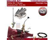 C4 Shifter Kit 8 E Brake Cable Clevis Trim Kit For E12E7 mustang montego monarch granada capri cougar fairlane ranchero zephyr bronco ltd mercury comet cortina