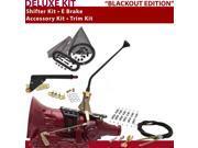 American Shifter Company ASCS1B4G41J0L TH400 Shifter Kit 12 E Brake Cable Clamp Trim Kit For D9893