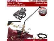 American Shifter Company ASCS2B5G42M0M TH400 Shifter Kit 16 E Brake Cable Clevis Trim Kit For E707D